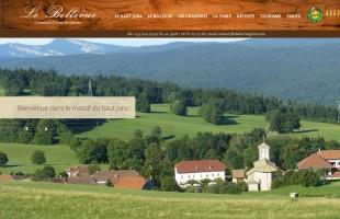 lebellevue-giron.fr chambre d'hôte de charme dans le Haut-Jura, classé 4 épis